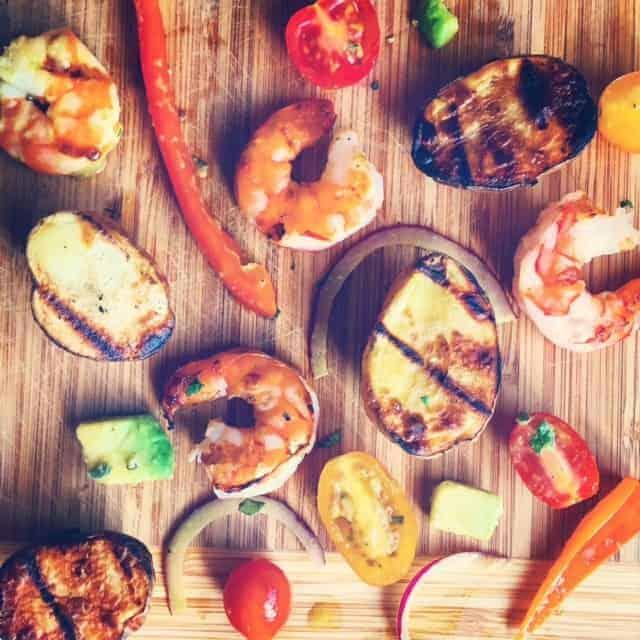 Grilled Potato and Shrimp Salad Recipe