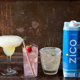 3 Awesome Coconut Water Cocktails