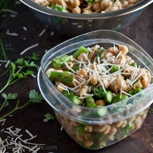 Healthy Pasta Salad with Asparagus and Spring Peas