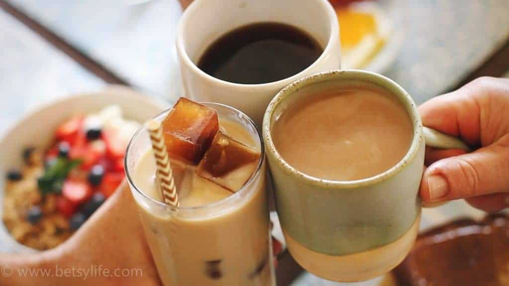 Make awesome coffee drinks using your single cup brewer