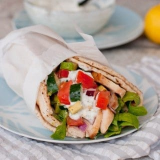 California Chicken Gyros
