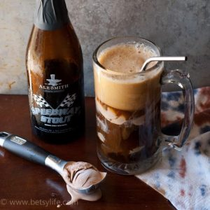 Chocolate Stout Float