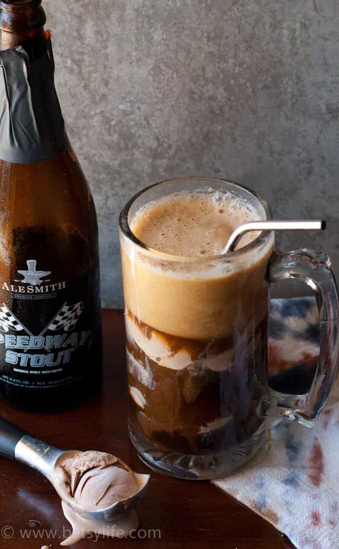 Chocolate Stout Ice Cream Float