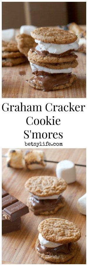 Graham Cracker Cookie S'mores