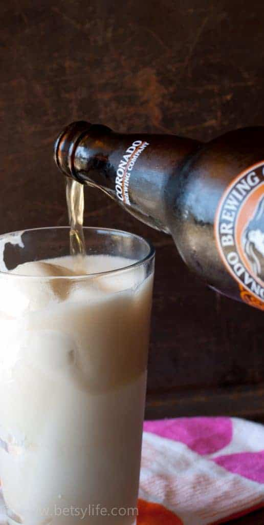Beer & Ice Cream Creamsicle Float