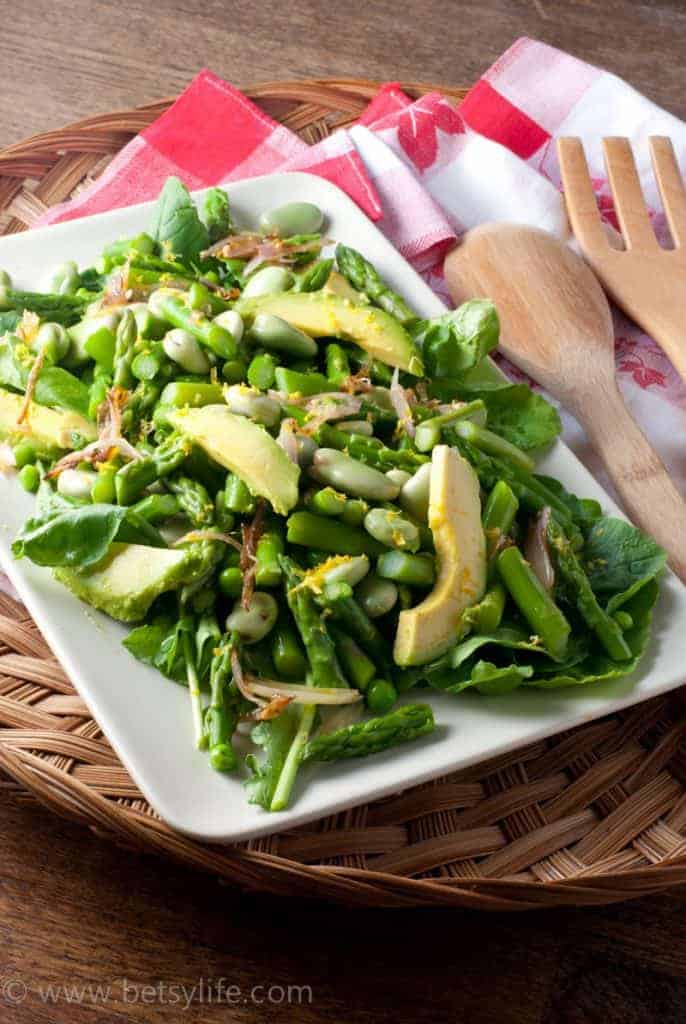 The Ultimate Green Salad Recipe. A healthy meal to help you get back on track after an overindulgent weekend.