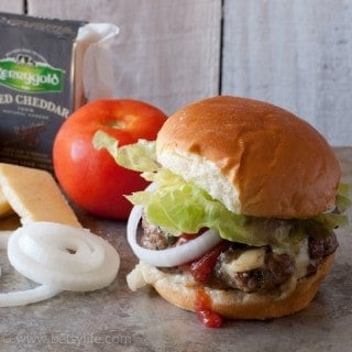 Jalapeno Cheddar Juicy Lucy Burger