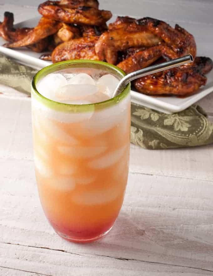 Pomegranate Sunrise Cocktail