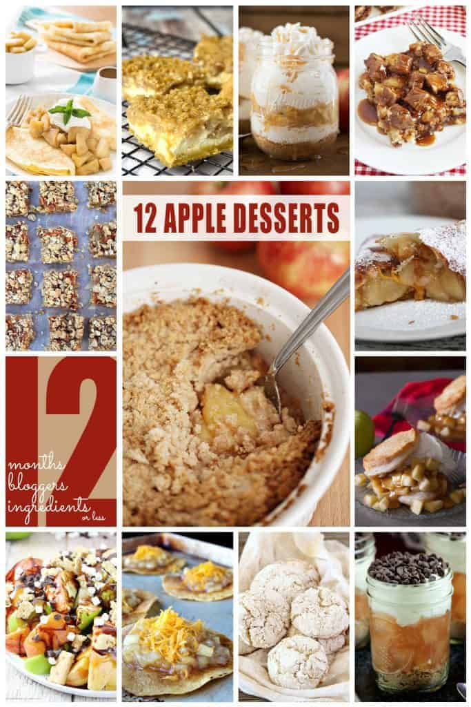 12 best apple recipes ever image collage
