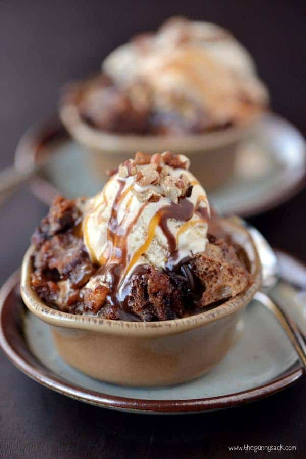 Slow Cooker Chocolate Turtle Bread Pudding and the Greatest Crock Pot Recipes Ever!