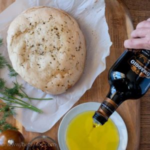 Olive Oil & Herb Crock Pot Bread
