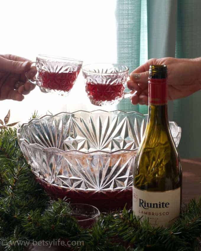 Red Wine Holiday Punch