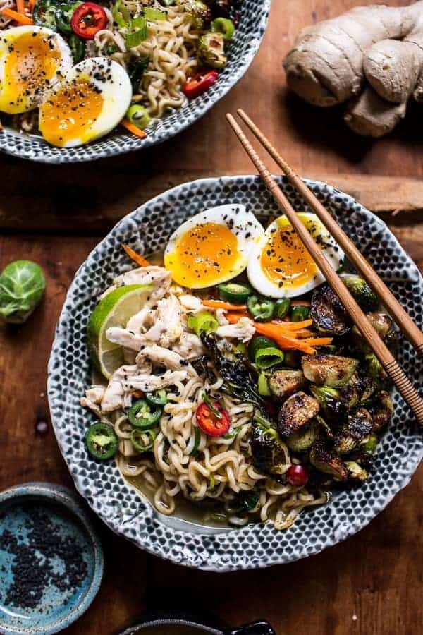 30 Minute Chicken Ramen and The Greatest Quick and Healthy Meals Ever