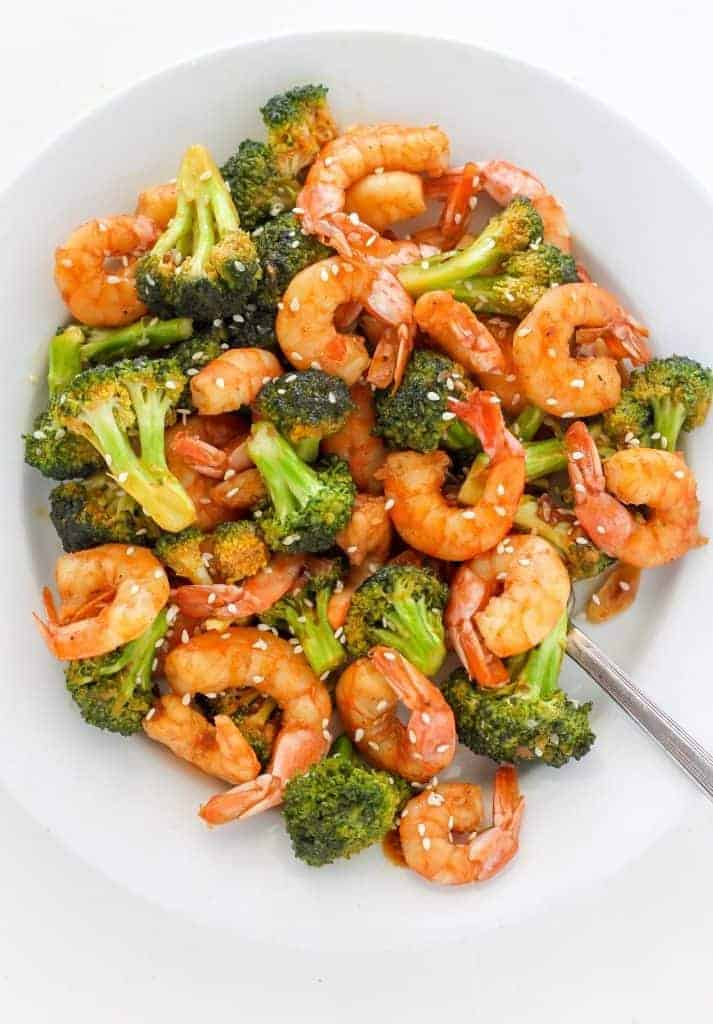20 Minute Shrimp and Broccoli and The Greatest Quick and Healthy Meals Ever!