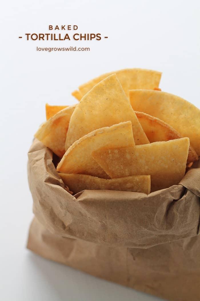 Baked Tortilla Chips
