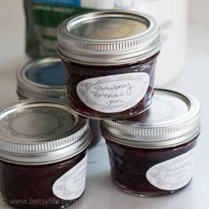 Homemade Strawberry Jam with Balsamic Vinegar