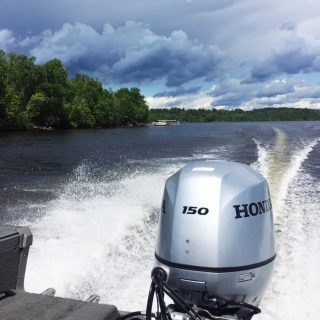 Boating. Lake Vermilion, MN
