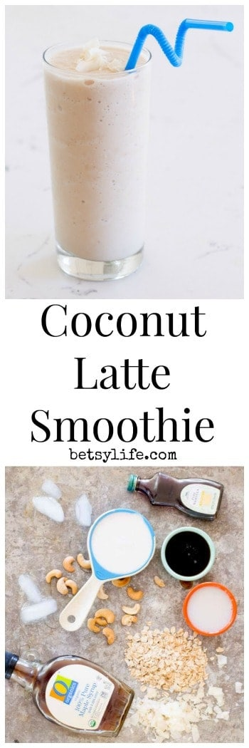 Coconut Latte Smoothie Recipe
