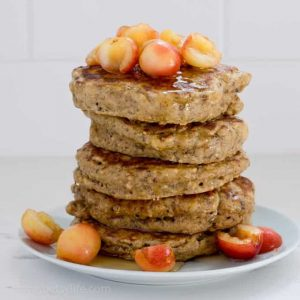 Healthy Protein Pancakes with Oats