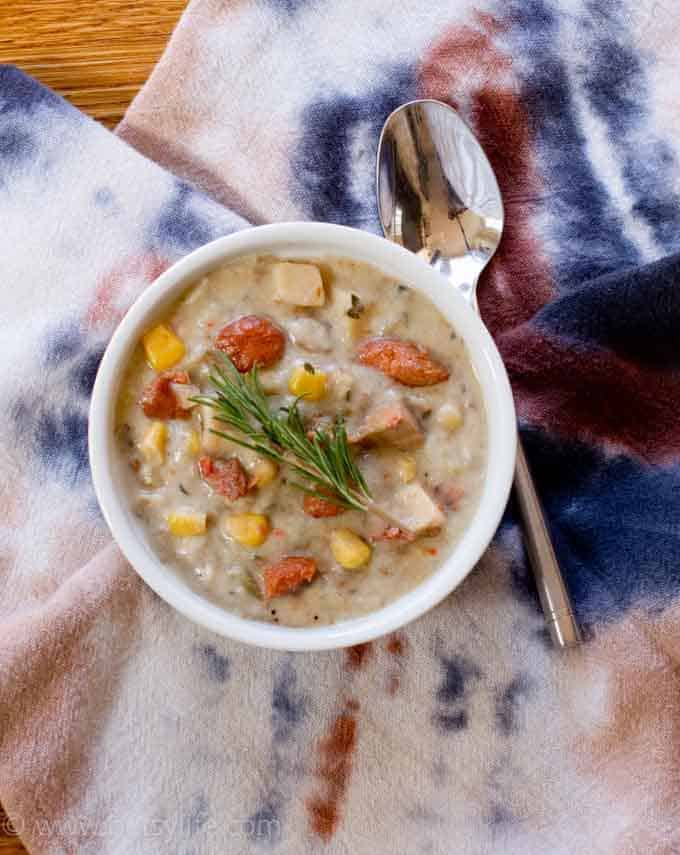 Alder Smoked Wild Salmon Chowder |Fishpeople Sustainable Seafood