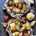 Low Country Boil Grill Packets