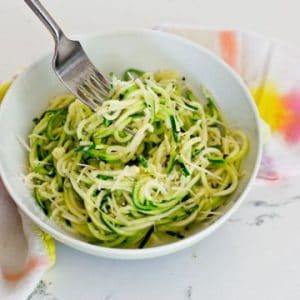 Cacio e Pepe with Zoodles