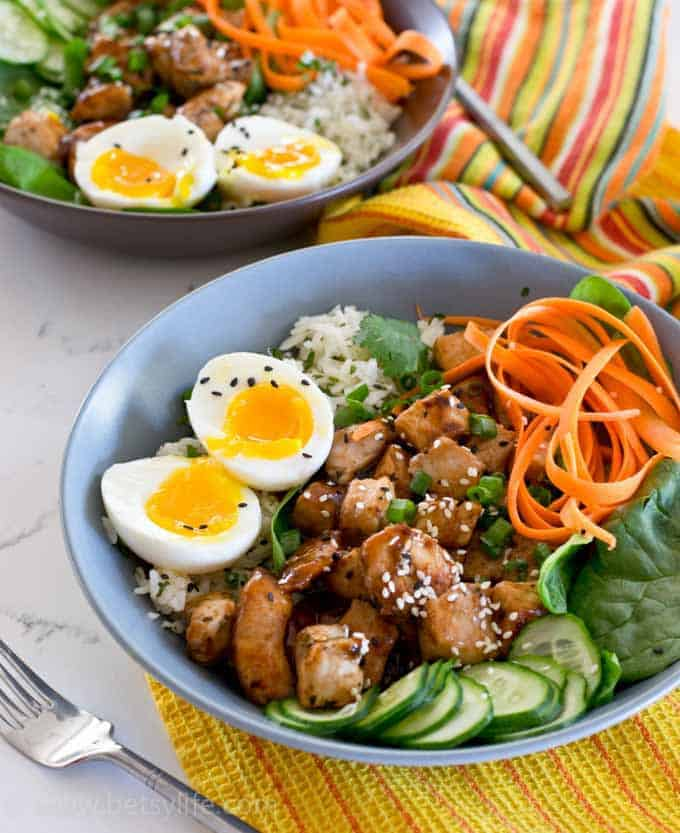 30 Minute Pork and Rice Bowl