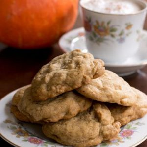 Peanut Butter Chip Chai Cookies