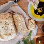 Olive Oil and Herb Crock Pot Bread