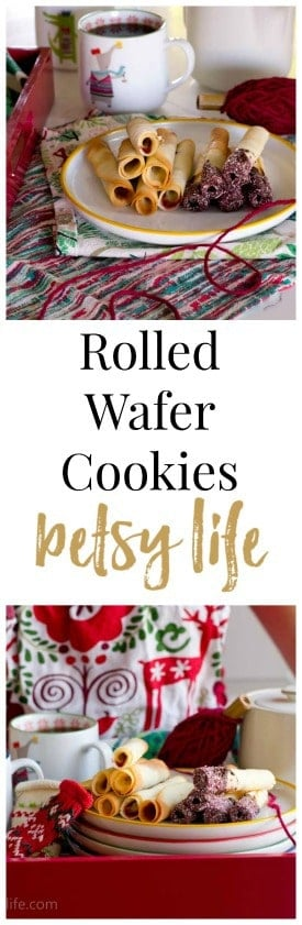 Rolled Wafer Cookie Straws