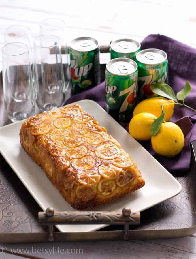 7up Lemon Pound Cake Loaf Betsylife