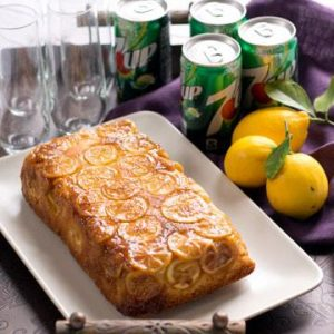 7UP Lemon Pound Cake Loaf