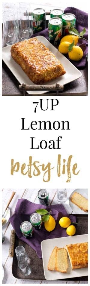 7UP Lemon Pound Cake Loaf