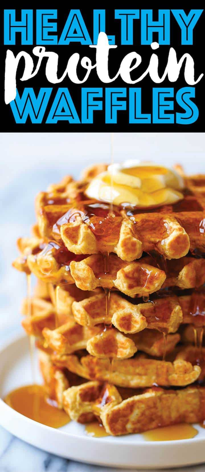 Healthy Protein Waffles