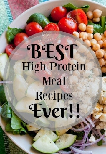 Best High Protein Meal Recipes Ever!