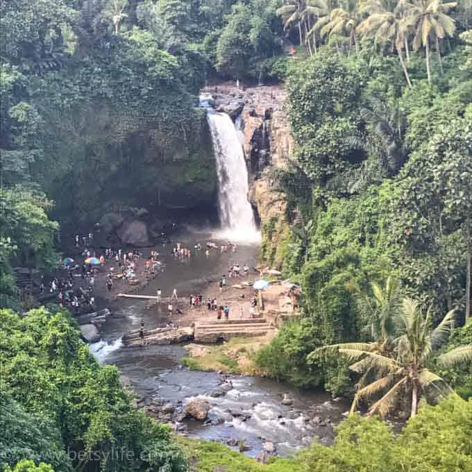 Tegenungan Waterfall. Bali Indonesia