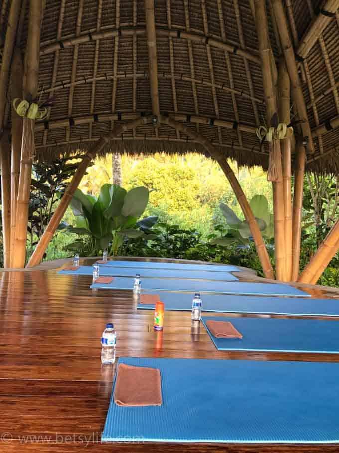 Yoga. Ubud, Bali Indonesia