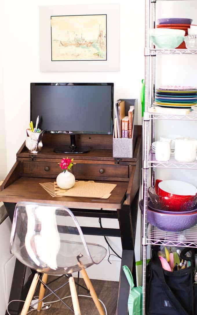 Space Saving Office Desk