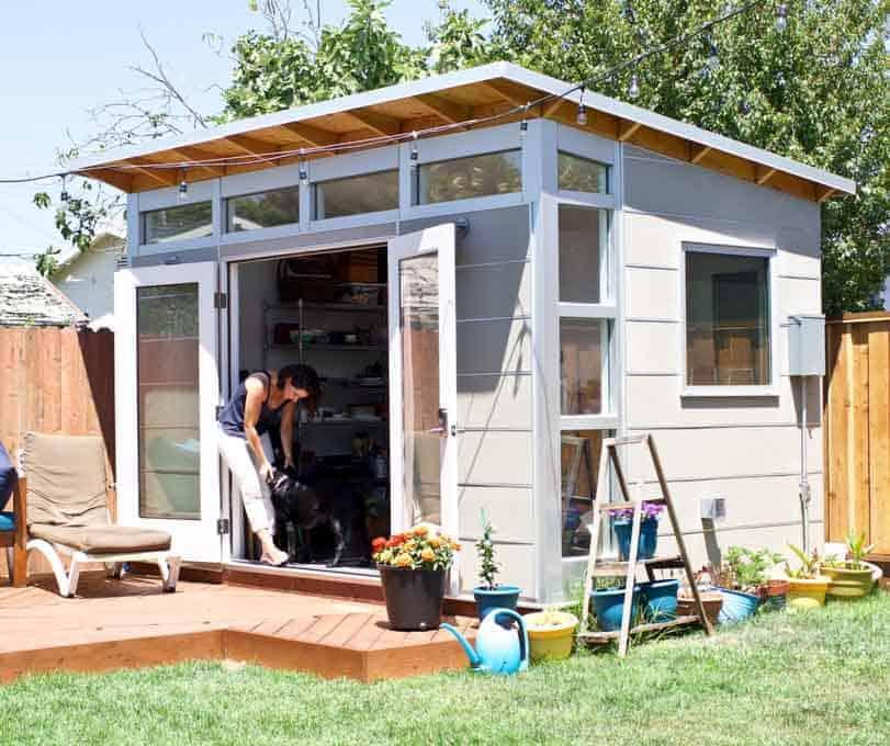 Oakland, California Backyard Studio