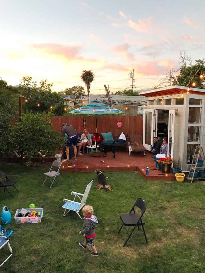 Oakland, California Backyard Studio