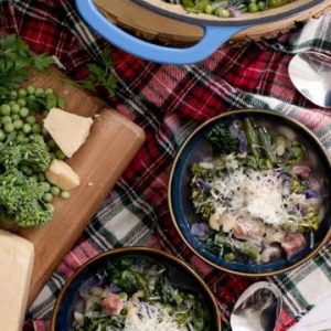 Get Your Greens Ham Hock Minestrone Soup