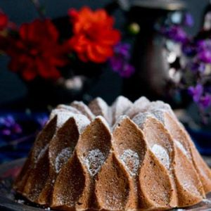 Bourbon Sweet Potato Bundt Cake