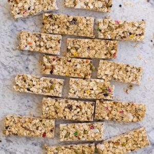 Clean Out Your Pantry No Bake Granola Bar Recipe