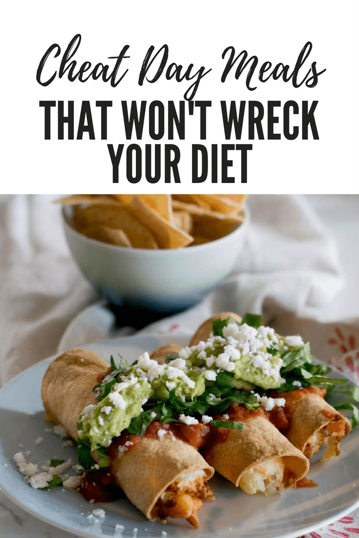 Cheat day meals that won't wreck your diet
