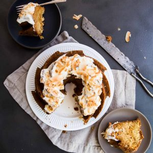 Coconut Carrot Bundt Cake